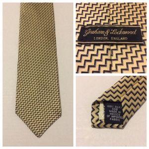 Graham & Lockwood London England Men's Neck Tie